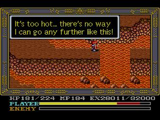 Screenshot Thumbnail / Media File 1 for Ys IV - Mask of the Sun (Japan) [En by Aeon Genesis v2.0]